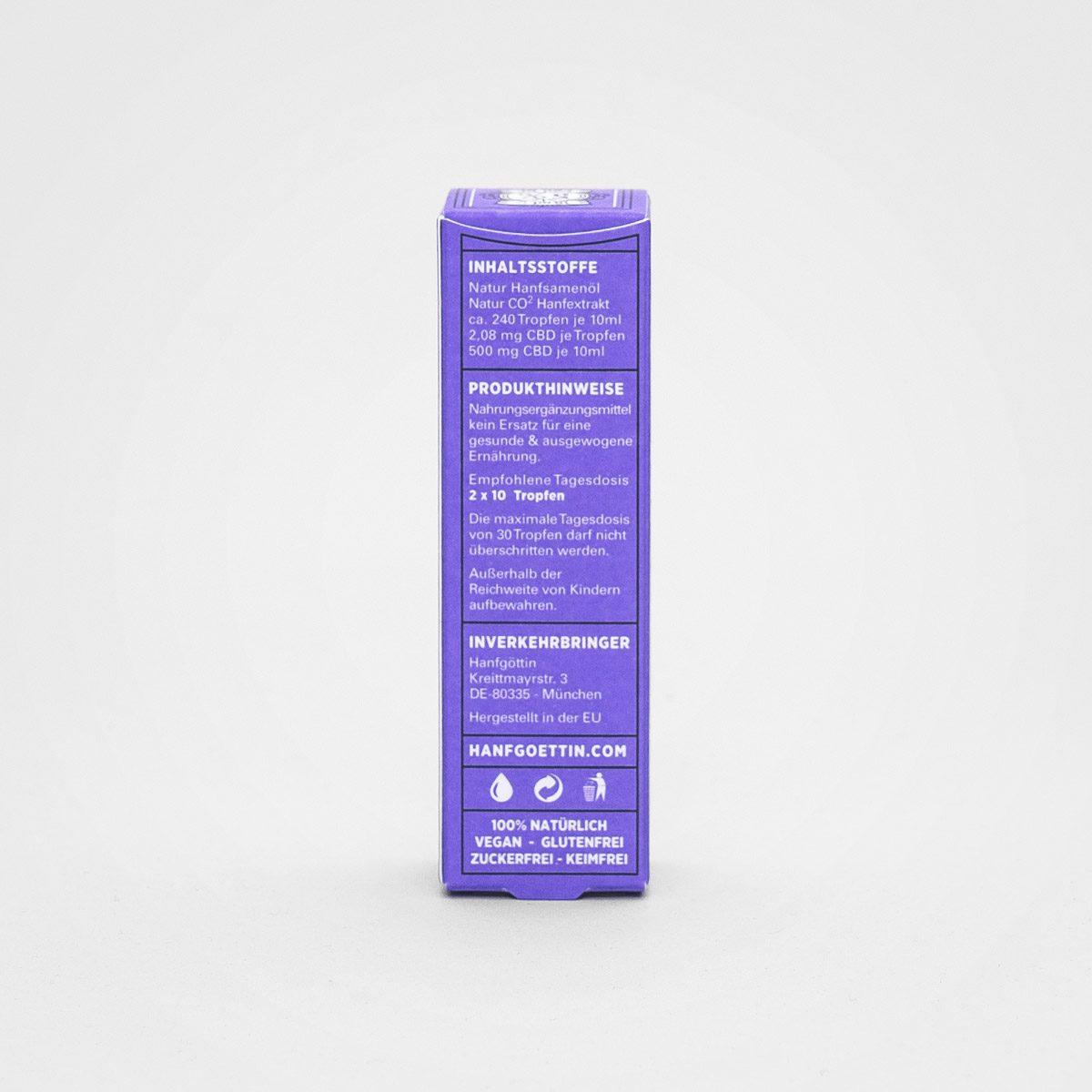 5% CBD Öl von HANFGÖTTIN